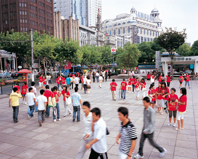 photo, performative action on People\'s square